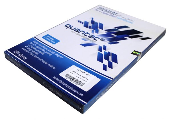 A3+ Sticker QUANTAC® PET Glossy HP for INDIGO