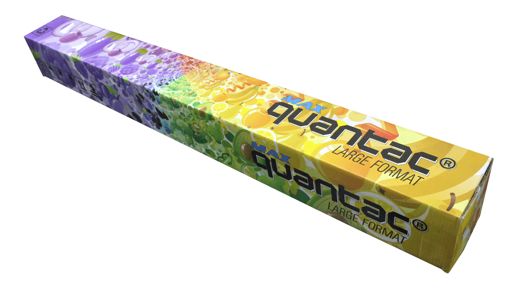 QUANTAC MAX STICKER LARGE FORMAT