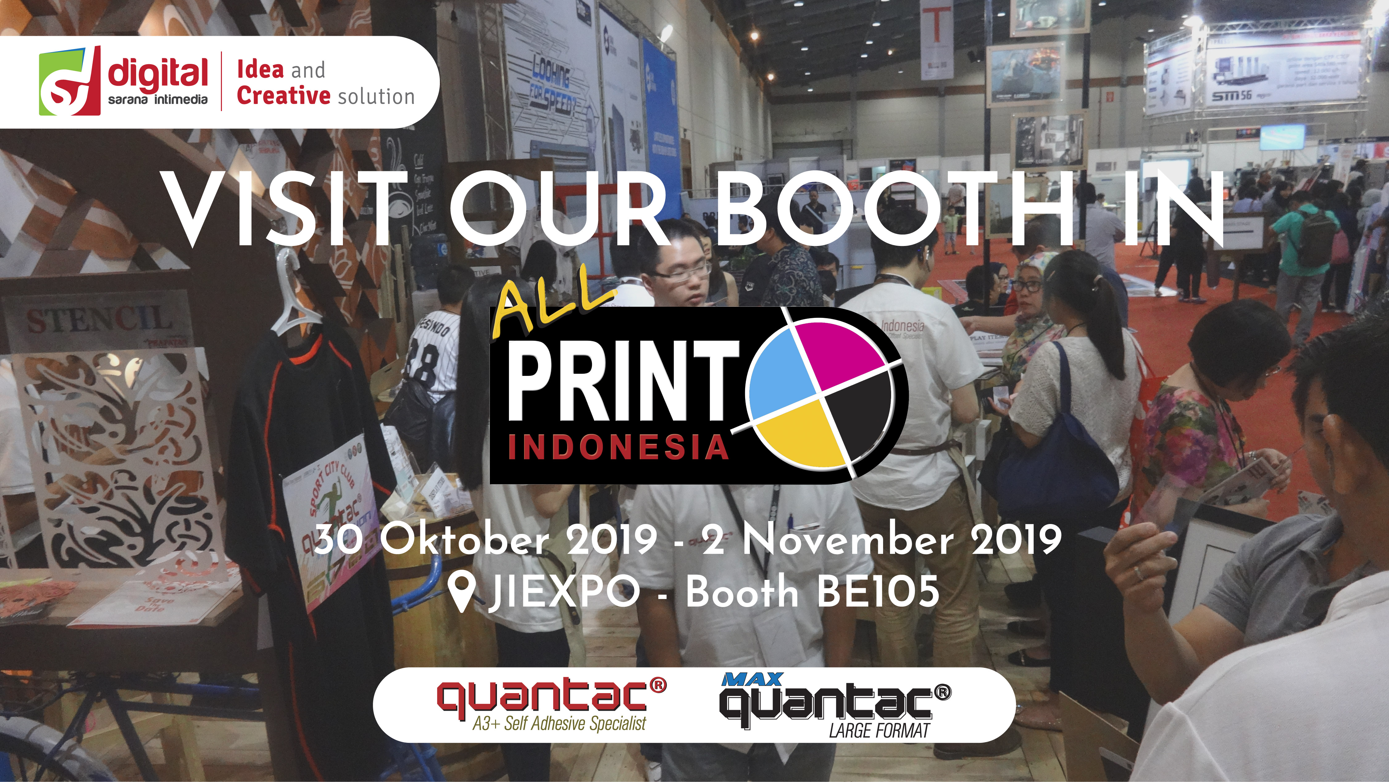 All Print Indonesia 2019 JIExpo Kemayoran 29 Oktober - 2 November 2019