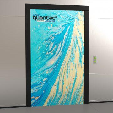 Stiker large format QUANTAC MAX