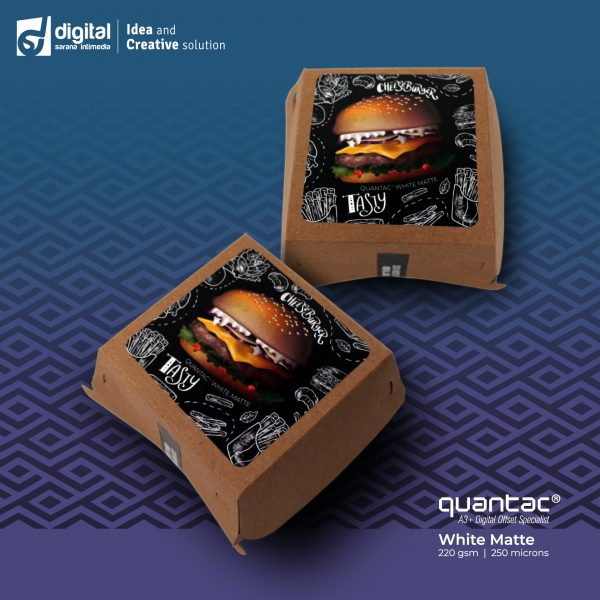 White-Matte-Burger